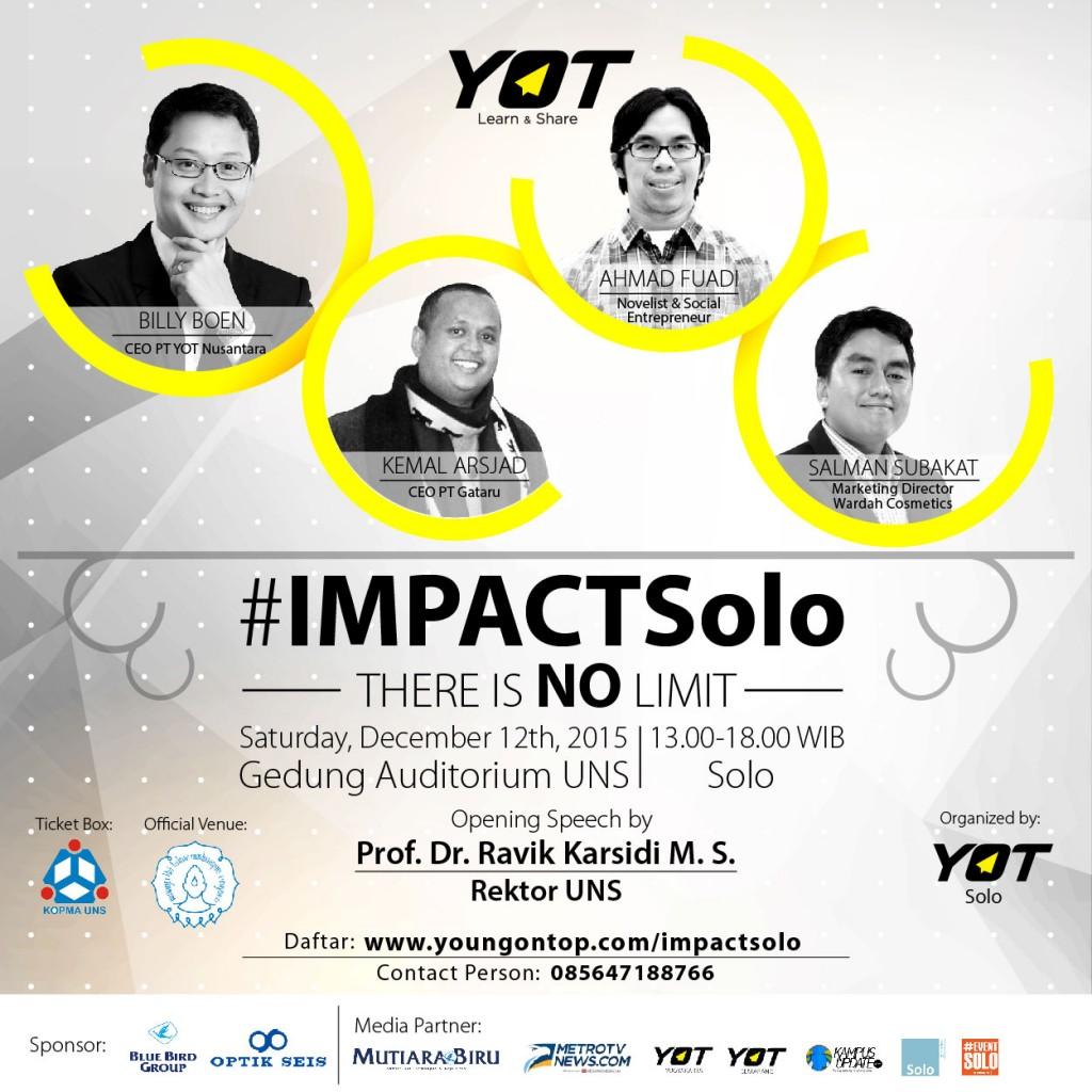 Poster IMPACTSolo-12 Nov