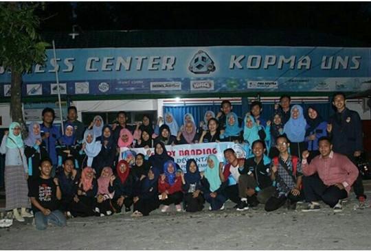 Kunjungan Kopma Dewantara PGRI Semarang